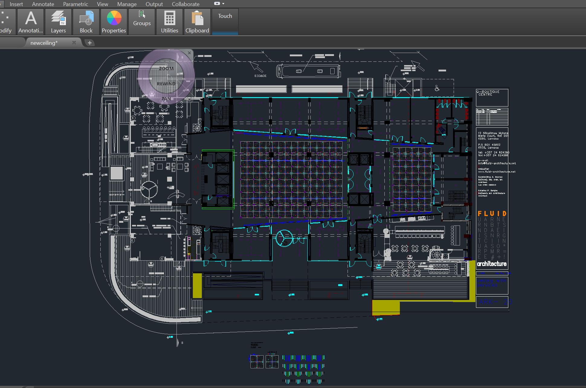 Radisson Blu C_72 (Ceiling layout)