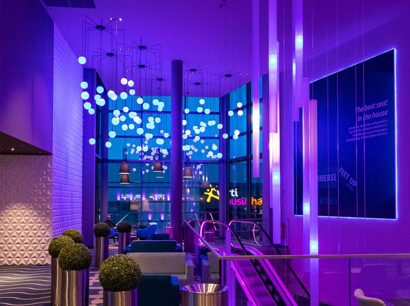 illumination-physics-entrance-blue-lights